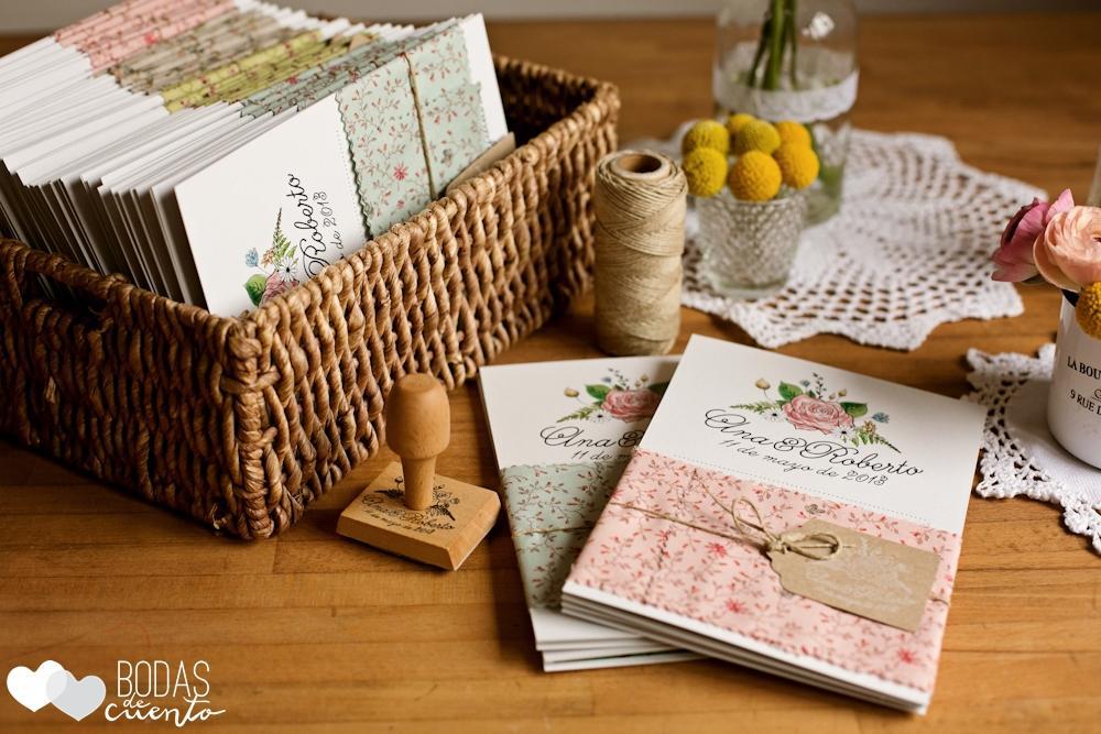 Las nvitaciones de una boda campestre paperblog - Cosas para preparar una boda ...