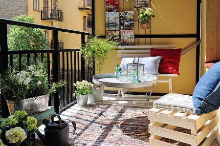 Deco Inspiration Un Piso Pequeño Con Terraza Para El Verano