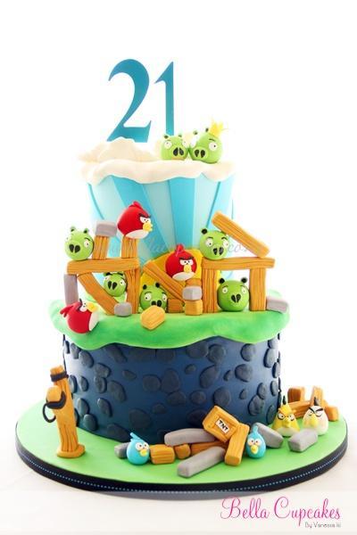 Ideas para la decoración de una fiesta Angry Birds