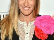 Sarah Jessica Parker flores color-block