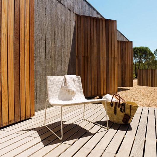 Mobiliario ecol gico para exteriores de andreu world - Mobiliario de exteriores ...