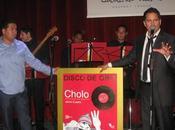 "Jaime Cuadra recibió Tercer Disco ""Cholo"