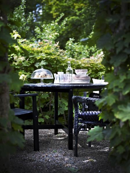 Hoy me gusta ikea en el jard n y en la terraza en blanco for Decoracion jardin ikea
