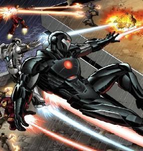 Enfrentamiento final en el libro de Iron Man 3