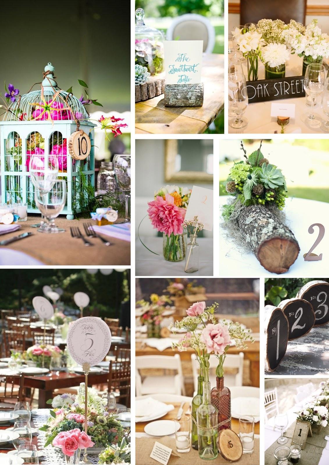 Bodas decoracion de mesas for Decoracion de adornos