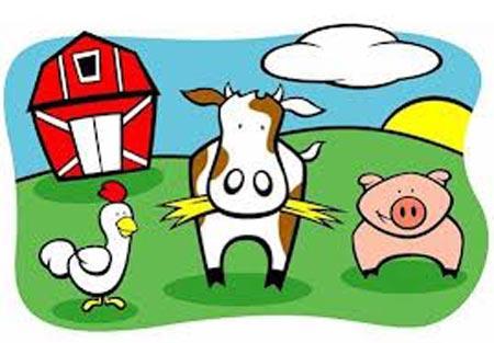 animales granja en ingles ANIMALES EN INGLÉS, DE GRANJA.