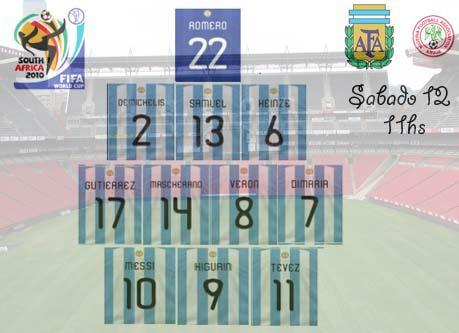 Maradona dispuso una práctica formal de fútbol, de dos tiempos de 30