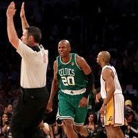 THE NBA FINALS 2010 GAME 2. (Boston Celtics 103 - L.A. Lakers 94)
