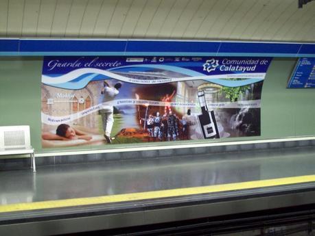 Campaña Promoción Turística en Atocha Madrid. Balneario Termas Pallarés