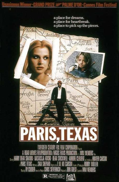 Paris, Texas de Wim Wenders