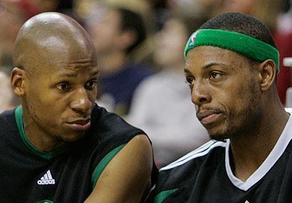 THE NBA FINALS 2010 (GAME 3). L. A. Lakers 91 - Boston Celtics 84