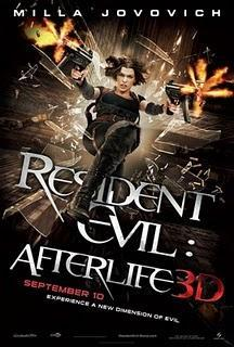 RESIDENT EVIL: AFTERLIFE, NUEVO TRAILER Y POSTER