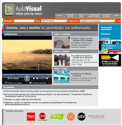Aula visual: vídeo recursos para el aula