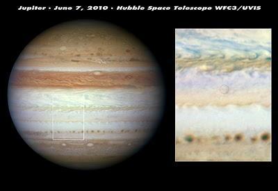 El Hubble aclara dos recientes incógnitas sobre Júpiter