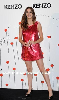 Fiesta de Kenzo en Madrid. Red Carpet