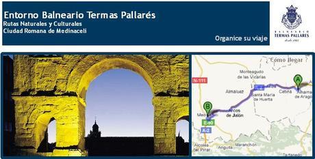 Visitas Imprescindibles Balneario Termas Pallarés Medinaceli. Excursiones