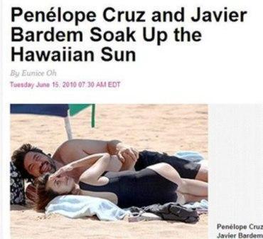Rosa Fashion: Penélope Cruz, estrella en el Paseo de la Fama, playa y Piratas del Mar Caribe en Hawai