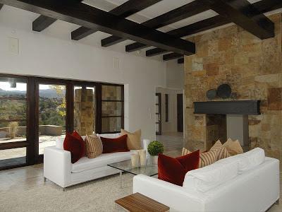 Rustico y moderno estilo santa fe paperblog for Fachadas de casas estilo rustico moderno