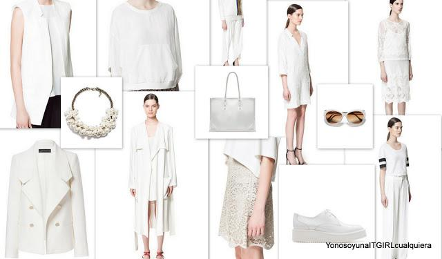 Total white looks Zara