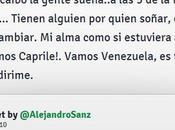 """Otro Importado: Alejandro Sanz: alma como estuviera allí suma grito ¡Vamos Capriles!"""""""
