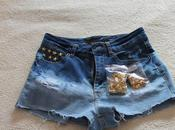 Diy: gradient shorts