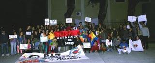 Exiliados y migrantes Colombianos en Argentina dicen Ahora si La PAZ!!
