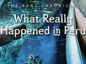 Portada revelada: What Really Happened Peru (The Bane Chronicles Cassandra Clare