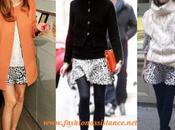 Olivia Palermo: falda Zara