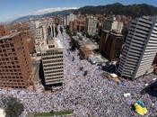 Hecho historíco: Pueblo colombiano marchó toma Bogotá