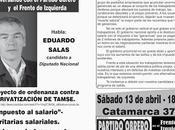 Conversando Partido Obrero: Sabádo 13/04, hs., encuentro Eduardo Salas Local Central Córdoba.