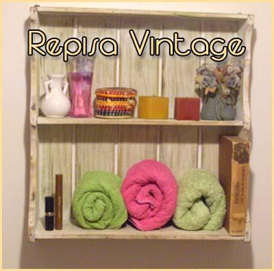 Restauraci n repisa vintage paperblog - Restauracion muebles vintage ...