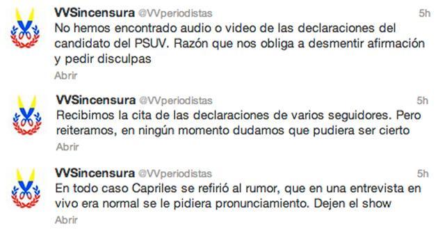 Miente miente que algo queda: Acusan a Maduro, en redes, de menosprecio… pero fue Capriles