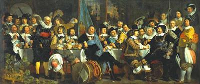 Banquete de milicianos para celebrar la Paz de Münster