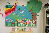 Recursos: Ideas para decorar el aula en primavera