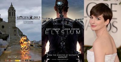 Al filo de la noticia - Anne Hathaway se va de viaje estelar, Sitges se nos vuelve diabólico y Neill Blomkamp nos lleva a 'Elysium' con Matt Damon
