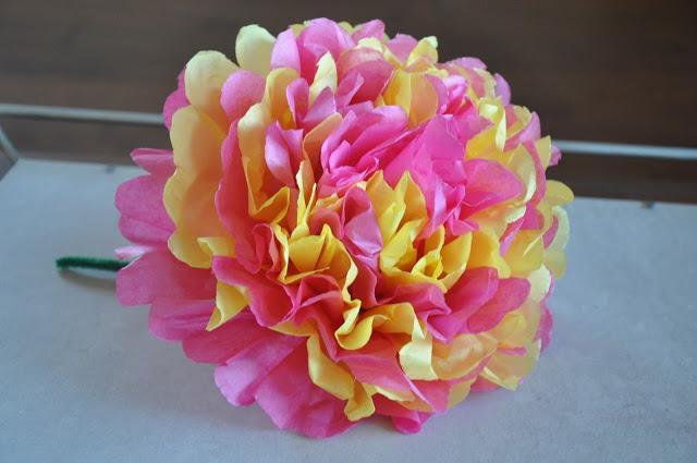 Como Hacer Una Flor Con Papel De Seda Paperblog