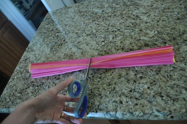 C mo hacer una flor con papel de seda paperblog - Sedas para unas ...