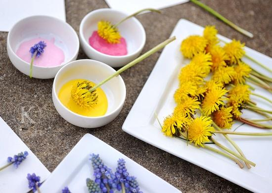 Recursos: Manualidades y actividades de expresión plástica sobre la primavera
