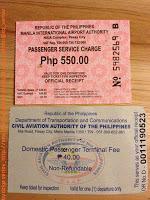 Entrar y salir de Filipinas