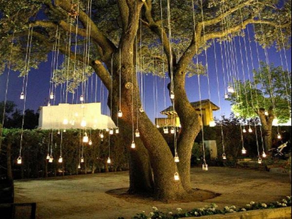 C mo iluminar el exterior paperblog - Iluminacion jardin sin cables ...