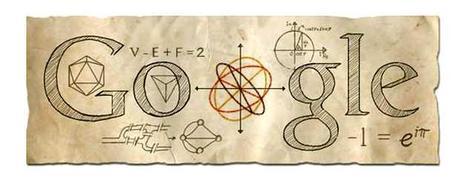 Un doodle para el científico protestante Leonhard Euler