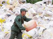 Incineran votos Capriles Venezuela