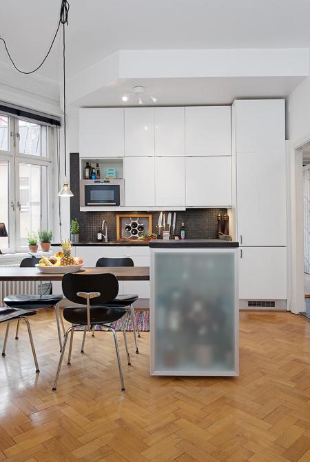 distribuci n piso peque o de 43m paperblog On distribucion pisos pequenos