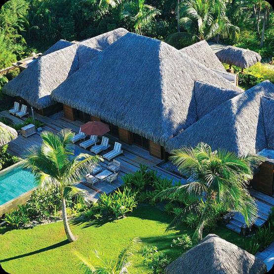 Hotel 4 Estaciones, Bora Bora.
