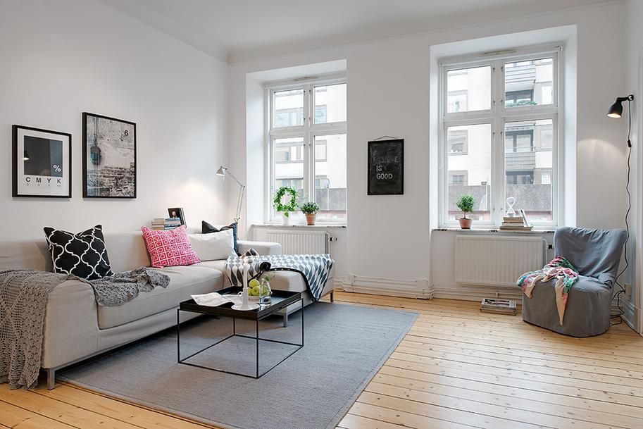 Nordic living room paperblog - Salon nordico ikea ...