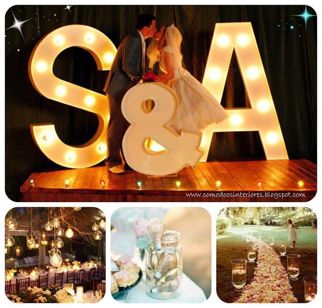 10 ideas para un casamiento de noche - Detalles decoracion boda ...