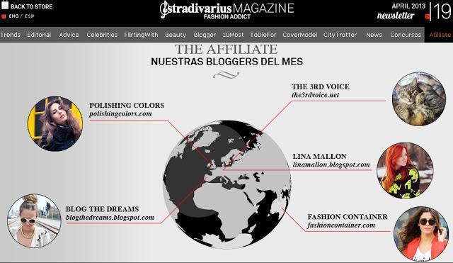 Fluorize + Blogger del mes en Stradivarius Magazine