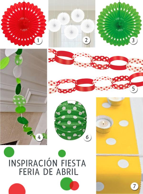 Ideas para la decoraci n de una fiesta feria de abril for Abril salon de fiestas