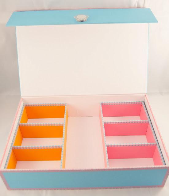 Cartonaje y carvado de sello mis trabajos paperblog - Decorar con cajas de carton ...