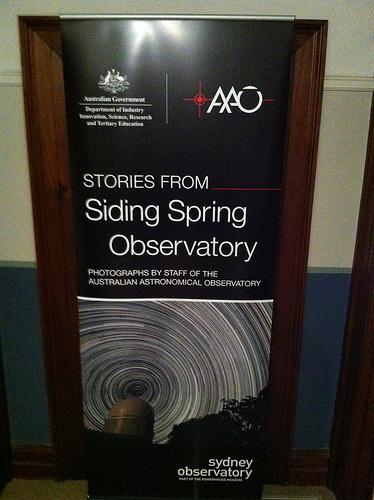 Historias desde el Observatorio de Siding Spring